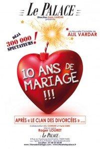 10 ans de mariage!